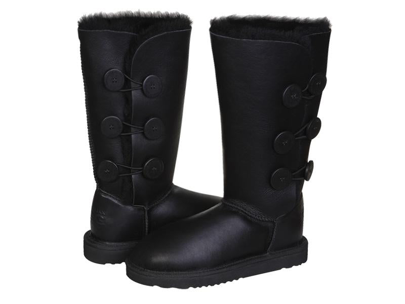 NAPPA BUTTON TALL ugg boots. Made in Australia. Free  Shipping. Afterpay.