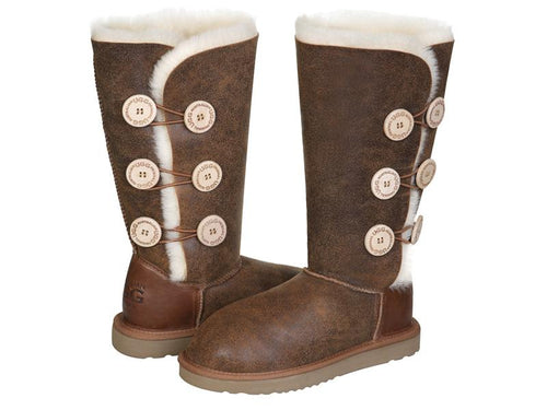 NAPPA BUTTON TALL ugg boots. Made in Australia. Buy now pay later with Afterpay.