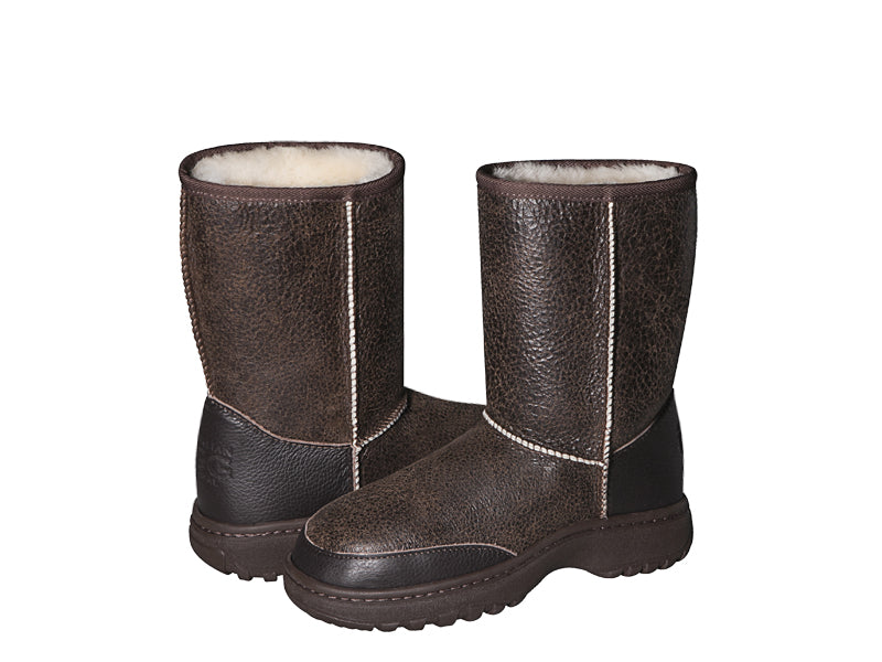 ALPINE NAPPA SHORT ugg boots. Made to order. NO Return.