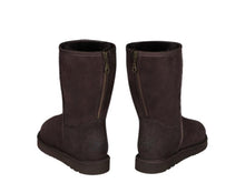 Load image into Gallery viewer, CLASSIC SHORT ZIPPER ugg boots. Made in Australia. Free Shipping. Afterpay.