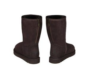CLASSIC SHORT ZIPPER ugg boots. Made in Australia. Free Shipping. Afterpay.