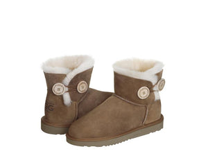 CLASSIC BUTTON MINI ugg boots. Made in Australia. Buy now pay later with Afterpay.