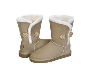 CLASSIC BUTTON SHORT ugg boots. Made in Australia. Free Shipping. Afterpay.