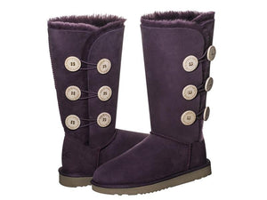 CLASSIC BUTTON TALL ugg boots. Made in Australia. Free Shipping. Afterpay.