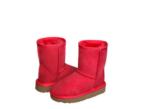 CLASSIC SHORT KIDS ugg boots. Made in Australia. Free Shipping. Afterpay.