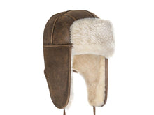 Load image into Gallery viewer, NAPPA AVIATOR ugg hat. Made in Australia. Buy now pay later with Afterpay.