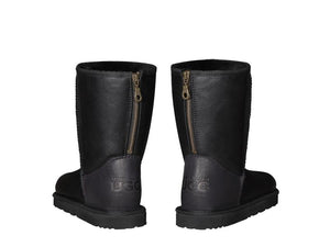 NAPPA SHORT ZIPPER ugg boots. Made in Australia. Free  Shipping. Afterpay.