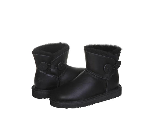 NAPPA BUTTON MINI ugg boots. Made in Australia. Buy now pay later with Afterpay.