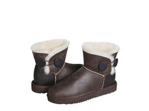 MADE TO ORDER. NAPPA BUTTON MINI ugg boots.