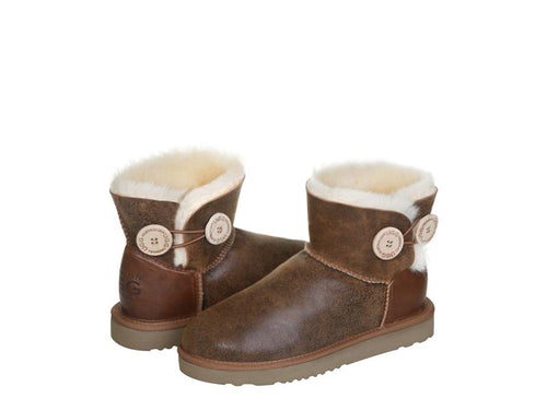 NAPPA BUTTON MINI ugg boots. Made in Australia. Free  Shipping. Afterpay.