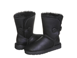 NAPPA BUTTON SHORT ugg boots. Made in Australia. Free  Shipping. Afterpay.