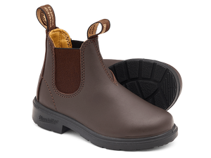 BLUNDSTONE 530 Kids Leather Boots Brown