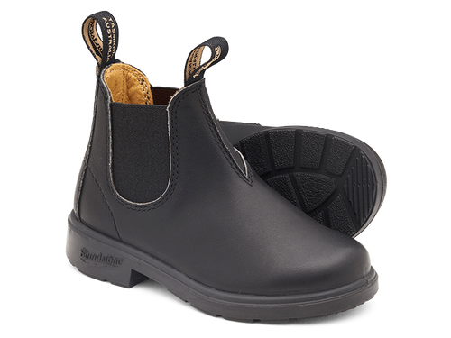 BLUNDSTONE 531 Kids Leather Boots Black