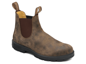 BLUNDSTONE 585 Leather Boots Rustic Brown