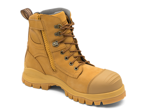 BLUNDSTONE 992 Leather Work Boots Wheat. FREE Shipping. Afterpay.