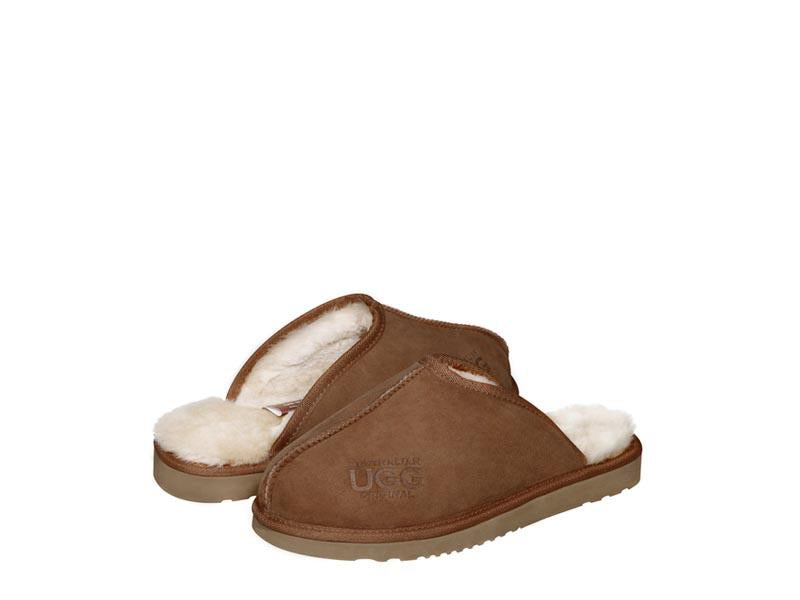 CLASSIC MENS HARD SOLE ugg scuffs. Made in Australia. Free Shipping. Afterpay.