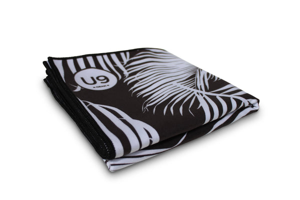 UNIT NINE Black Fern Beach Towel