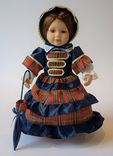 Doll in Tartan Costume