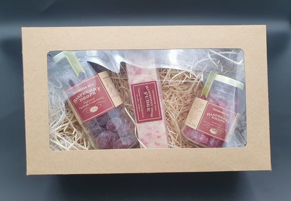 Raspberry Drop Fudge Hamper