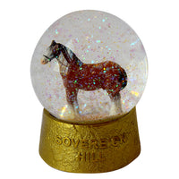 Snow Globe - Clydesdale Horse