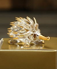 Glass/Gold Plated Animals