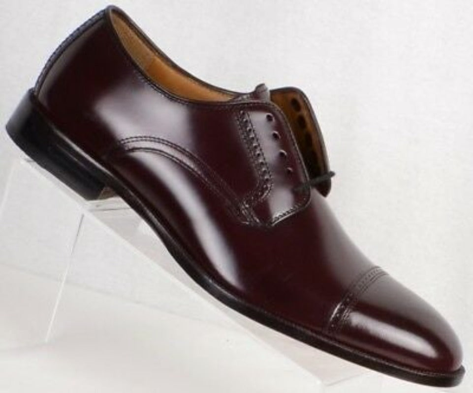 Bradford Cap toe Black