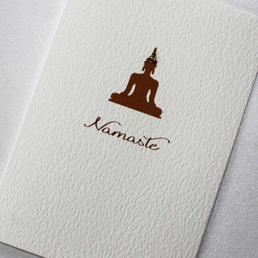 Good Vibes Card - Namaste