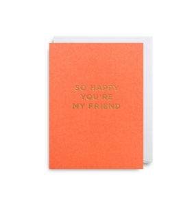MINI Card - So Happy You're My Friend