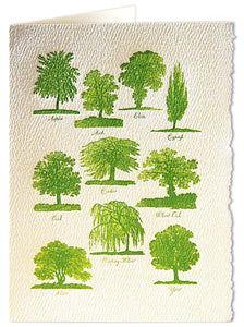Card - Cozens Trees
