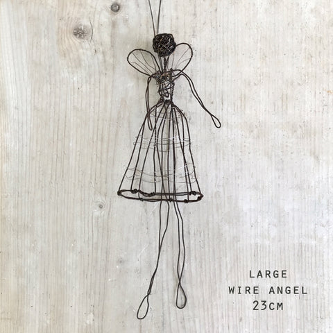 Woven Wire Angel - 2 Sizes