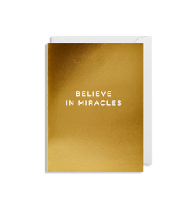 MINI Card - Believe In Miracles