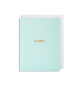 Mini Card - Baby Boy!