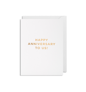 MINI Card - Happy Anniversary to Us