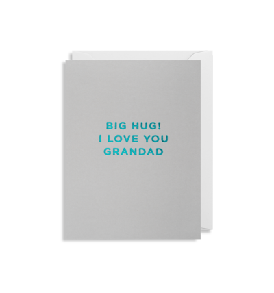 MINI Card - I Love You Grandad