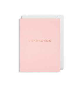 MINI Card - XOXOXOXOX