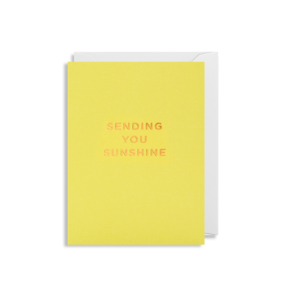 Mini Card - Sending You Sunshine