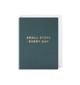 MINI Card - Small Steps Every Day