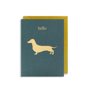 MINI Card - Hello Sausage