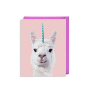 Mini Card - Alpaca Unicorn