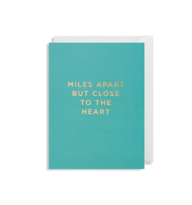Mini Card - Miles Apart But Close to The Heart