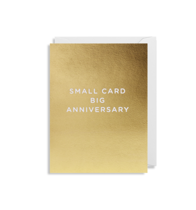 MINI Card - Small Card Big Anniversary