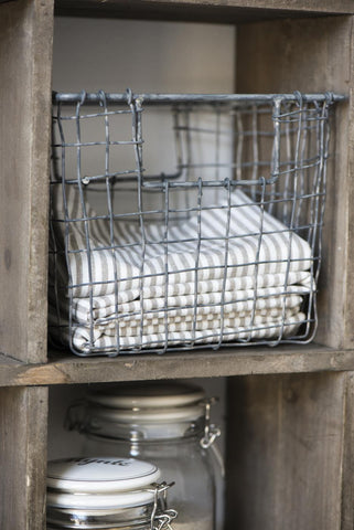 Wired Basket - Open Handle Small
