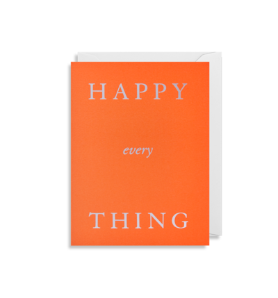 MINI Card - Happy every Thing