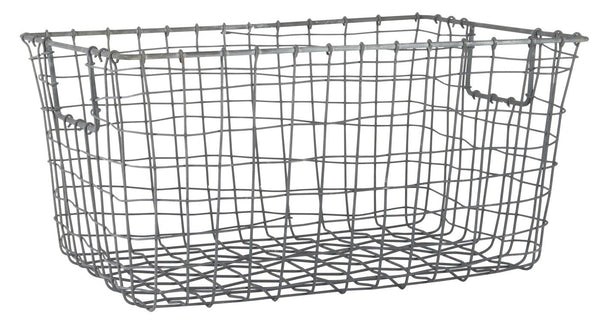 Wire Basket - Open Handle Large