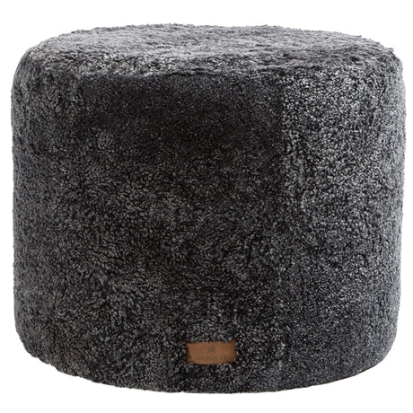 Shepherd of Sweden 100% Sheepskin 'Frida' Pouffe in Grey WAS £320 NOW £275