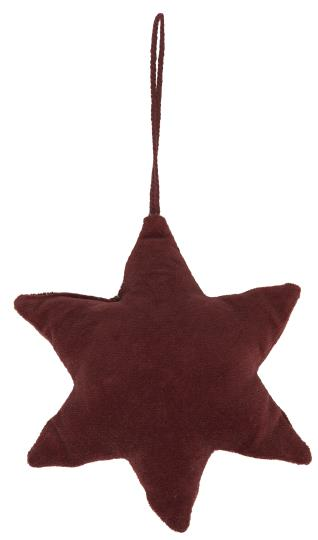 Velvet Star Decoration