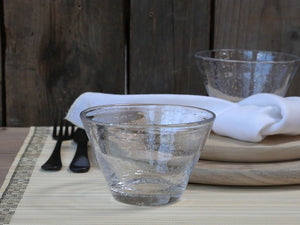 Small Glass Bowl - Clear