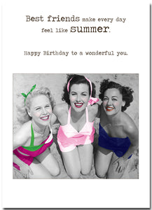 Card Betty Loves:  Friends Are For Life Birthday