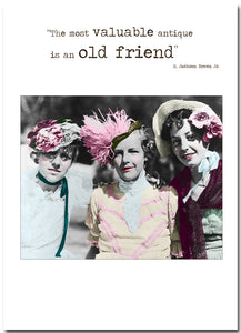 Card Betty Loves:  Old Friend