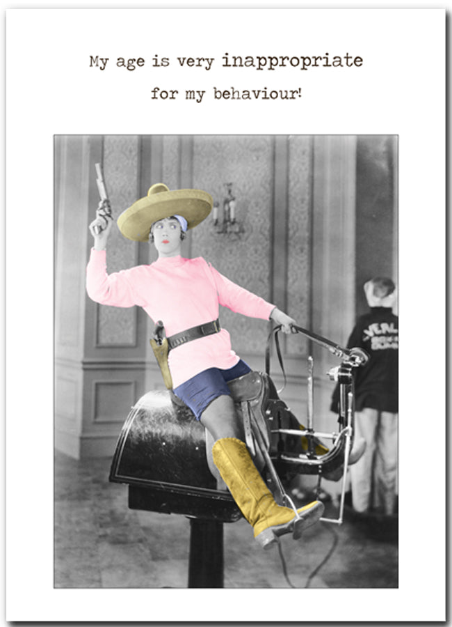Card Betty Loves: Inappropriate